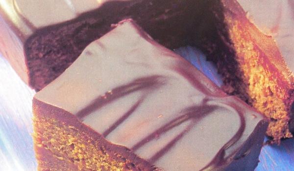 Лепкав шоколадов сладкиш