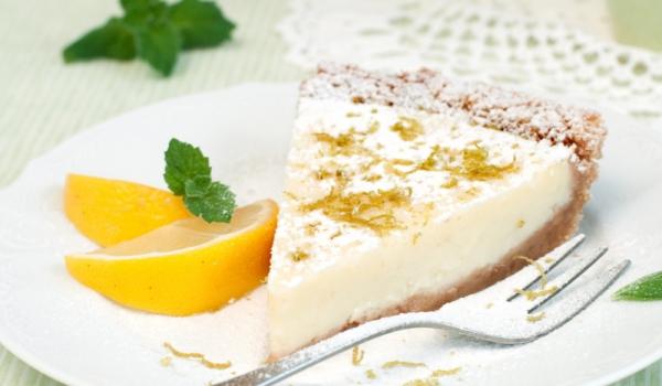 Италиански лимонов чийзкейк
