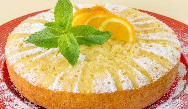 Сиропиран портокалов кейк