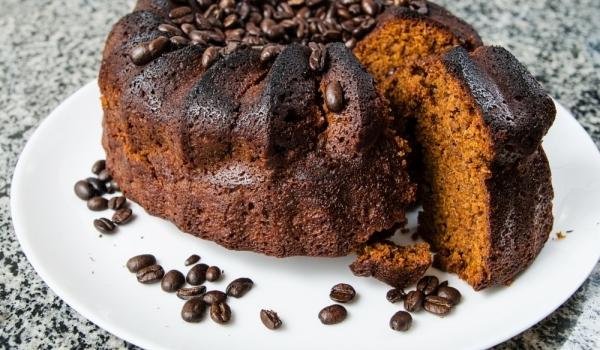 Какаов кекс с кафе