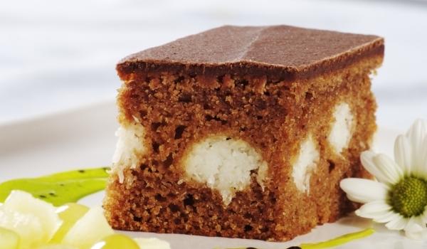 Кекс с кокос и шоколад
