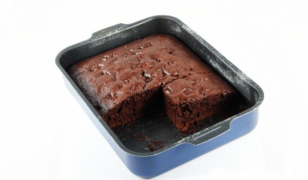 Какаов кекс със соево мляко