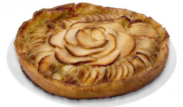 Сладкиш с ябълки и овесени ядки