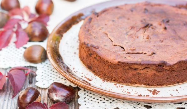 Френска торта от кестени