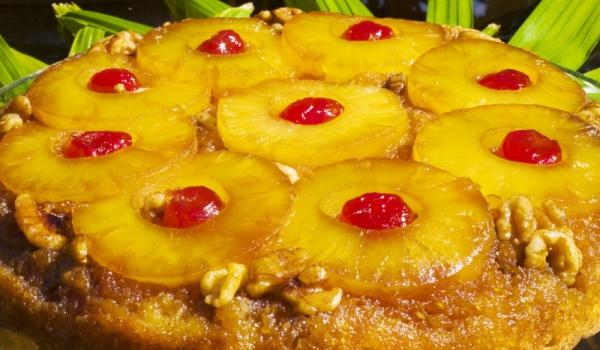 Обърната торта с ананас