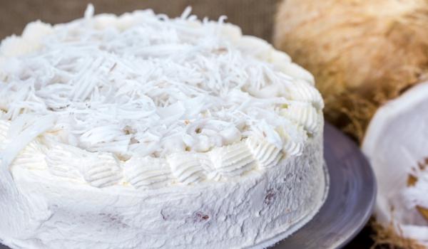 Кокосова торта без печене