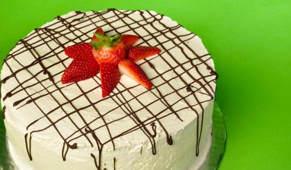 Новогодишна ванилова торта