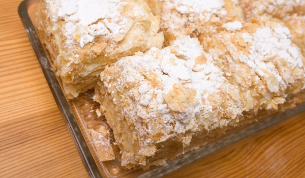 Унгарска торта Кремеш