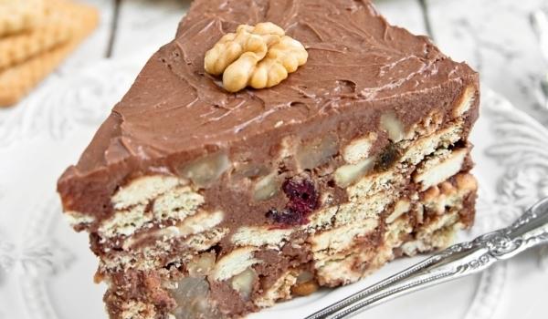 Торта с нутела