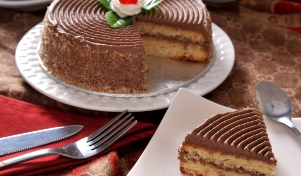 Руска торта с кафе