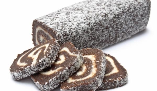 Бишкотено-кафено руло