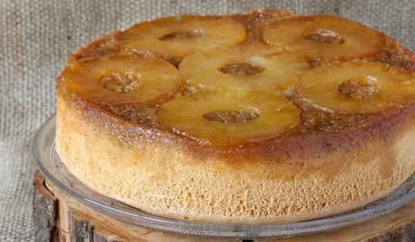 Ананасова торта без печене
