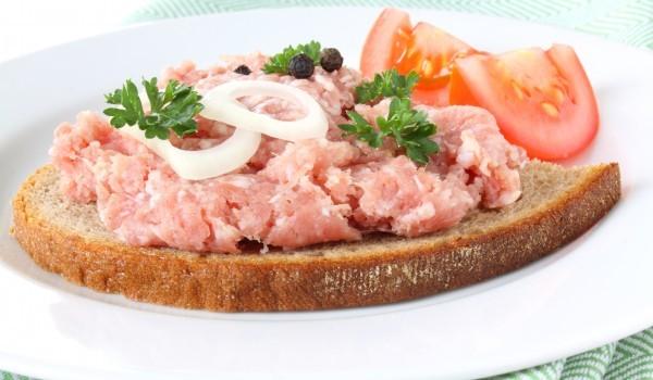 Сандвичи със смляно месо