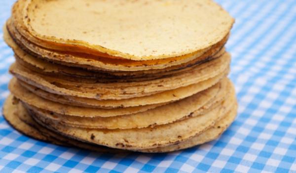 Царевични тортили