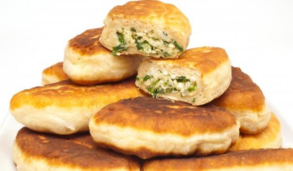 Пирожки със солена плънка