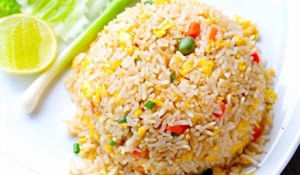 Пържен ориз с джинджифил и яйце