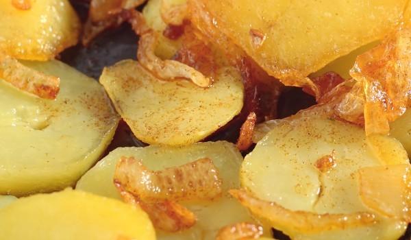 Картофи с лимон