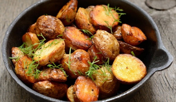 Печени картофи с оцет