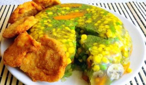 Желирани зеленчуци