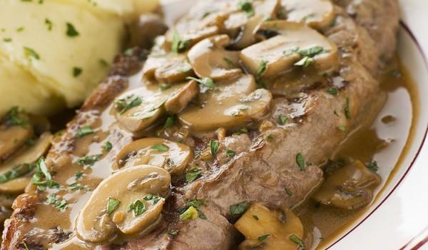 Сос с гъби за месо