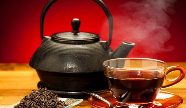 Чай по украински с мента и лимон