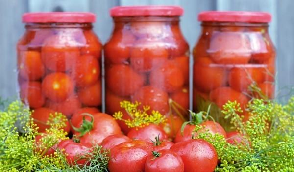 Консервирани белени домати